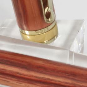 Vulpen - Rozenwood - Titanium Gold plating - Brush Gold accent-537