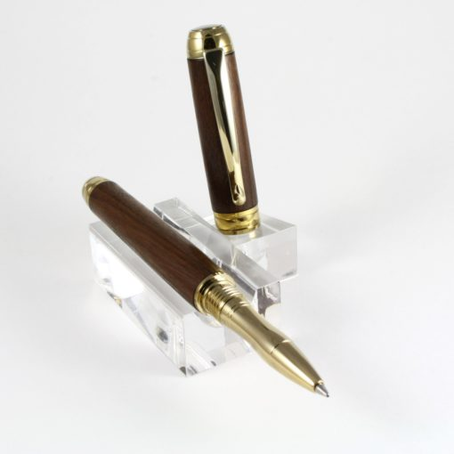 Rollerball - Noten - Titanium God - Titanium Gold accent -0