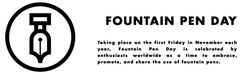 Fountain Pen Day Banner - vulpen-dag