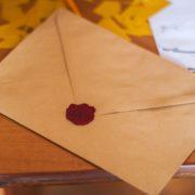 schrijven brief