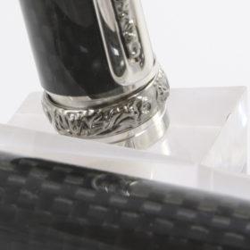 """Vulpen """"Romano"""" met Rhodium plating with Black Titanium Accents.-14241"""